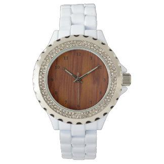 Der Blick der warmen Armbanduhr