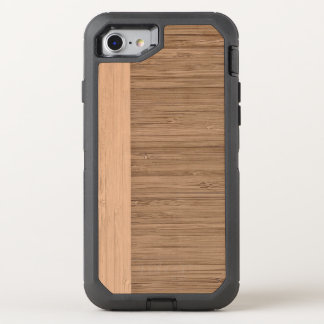 Der Blick des Bambusgrenzhölzernen Kornes in der OtterBox Defender iPhone 8/7 Hülle
