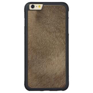 Der Blick des luxuriösen Siegel-Punkt-siamesische Carved® Maple iPhone 6 Plus Bumper Hülle