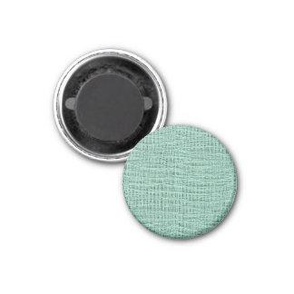 Der Blick Seafoam der blauen Runder Magnet 2,5 Cm