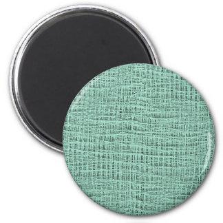 Der Blick Seafoam der blauen Runder Magnet 5,1 Cm