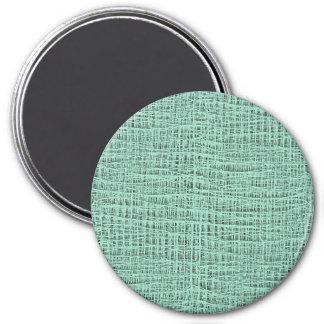 Der Blick Seafoam der blauen Runder Magnet 7,6 Cm