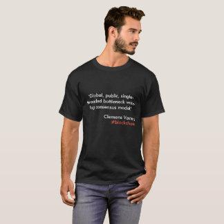 Der #BlockChain T - Shirt