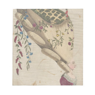 Der Blumen-Garten - Matthew Darly Notizblock