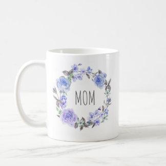 Der Blumen| Tag der Mutter des lila Kaffeetasse