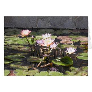 Der Blumenstrauß-Reihe der Natur (Sommer) Karte