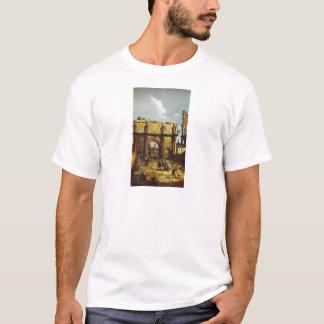 Der Bogen von Constantine durch Bernardo Bellotto T-Shirt