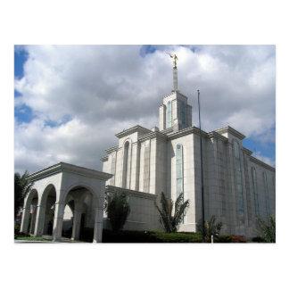 Der Bogotá Kolumbien LDS Tempel Postkarte