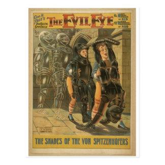 Der böse Blick Postkarte