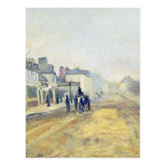 Der Boulevard Heloise in Argenteuil durch Claude Postkarte