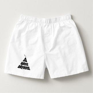 Der Boxer-Baumwolle Boxercraft Pyramide-//-Männer Herren-Boxershorts