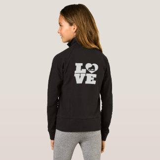 Der Boxercraft der Liebe-Skate-Mädchen Jacke