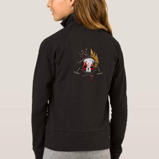 Der Boxercraft der Piraten-Mädchen Sport-Jacke, Jacke