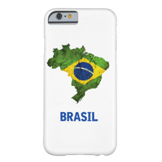 Der Brasilien-Flagge iPhone Fall Barely There iPhone 6 Hülle