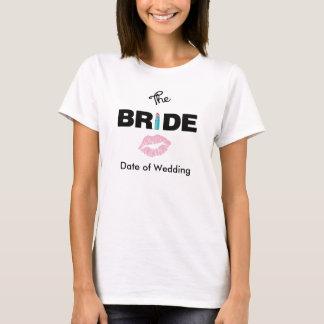 Der Braut-Hochzeits-T - Shirt
