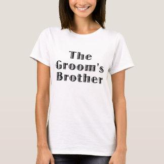 Der Bräutigam-Bruder T-Shirt