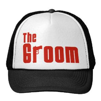 Der Bräutigam (Mafia-Rot) Baseball Mütze