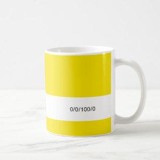 Der Brennstoff-Behälter 0/0/100/0 des Designers Kaffeetasse