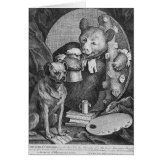 Der Bruiser Charles Churchill, sobald Karte
