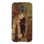 Der Bücherwurm Samsung Galaxy S5 Hüllen