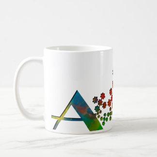 Der Buchstabe A Kaffeetasse