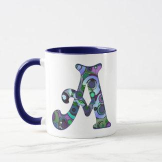 Der Buchstabe A Tasse
