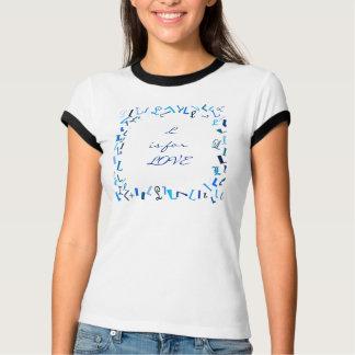 Der Buchstabe L T-Shirt
