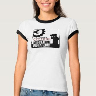 """""""Der Bürger-Journalismus-"""" Wecker-T-Stück der T-Shirt"""
