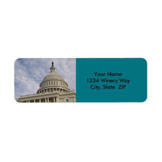 Der Capitol- HillGebäude in Washington DC