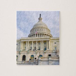 Der Capitol- HillGebäude in Washington DC Puzzle
