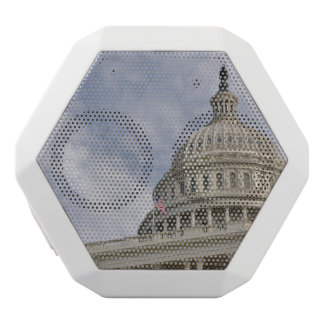 Der Capitol- HillGebäude in Washington DC Weiße Bluetooth Lautsprecher