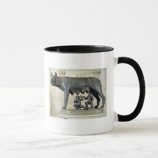 Der Capitoline Sie-Wolf Tasse