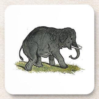 Der Cartoon der Elefant-graue Kinder Untersetzer