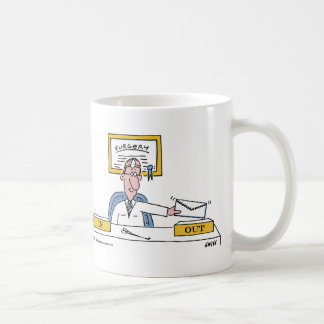 Der Cartoon-Kaffee-Tasse des lustigen niedliche Tasse