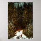 Der Chasseur im Walde Poster