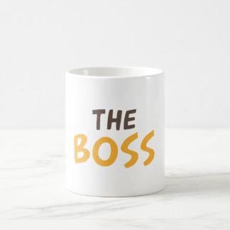Der Chef Kaffeetasse