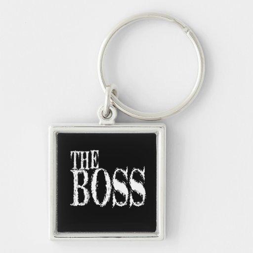 Der Chef Keychain Schlüsselanhänger