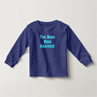 Der Chef Kleinkind T-shirt