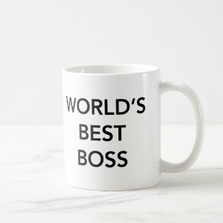 Der Chef-Weiß-Tasse der Welt beste Tasse