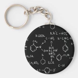 Der Chemiker Standard Runder Schlüsselanhänger
