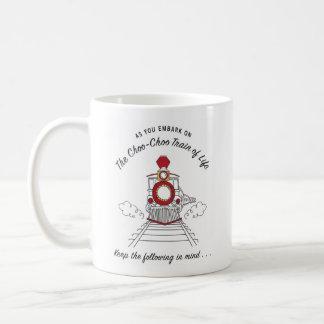 Der Choo-Choo Zug der Leben-Tasse Kaffeetasse