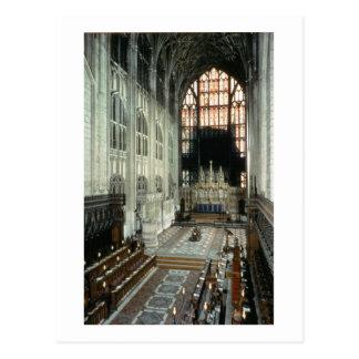 Der Chor und das Ostfenster, 12. Jahrhundert Postkarte