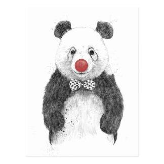 Der Clown Postkarte