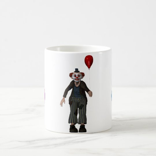 Der Clown und sein Ballon Kaffeetasse