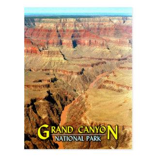 Der Colorado, Grand- CanyonNationalpark Postkarte