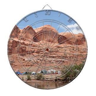 Der Colorado, Utah, USA Dartscheibe
