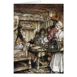 Der Compleat Angler Illustration Arthurs Rackham Karten