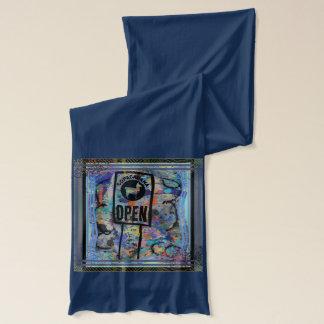 Der coole Schal der Lama-Männer