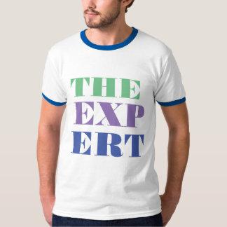 der coole T - Shirtentwurf des sachverständigen T-Shirt