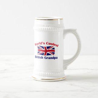 Der coolste britische Großvater der Welt Bierglas